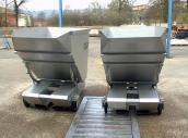 Chariot basculant  (transport vendange)