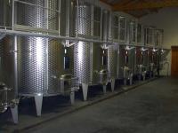 Cuve inox (vinification-stockage)