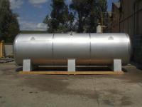 REF.  AIR  LIQUIDE - KOUROU  / Cuve de transport eau aseptisée