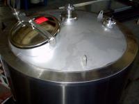 Cuve inox (traitements des eaux)
