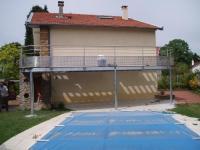 Terrasse (acier galvanisé)